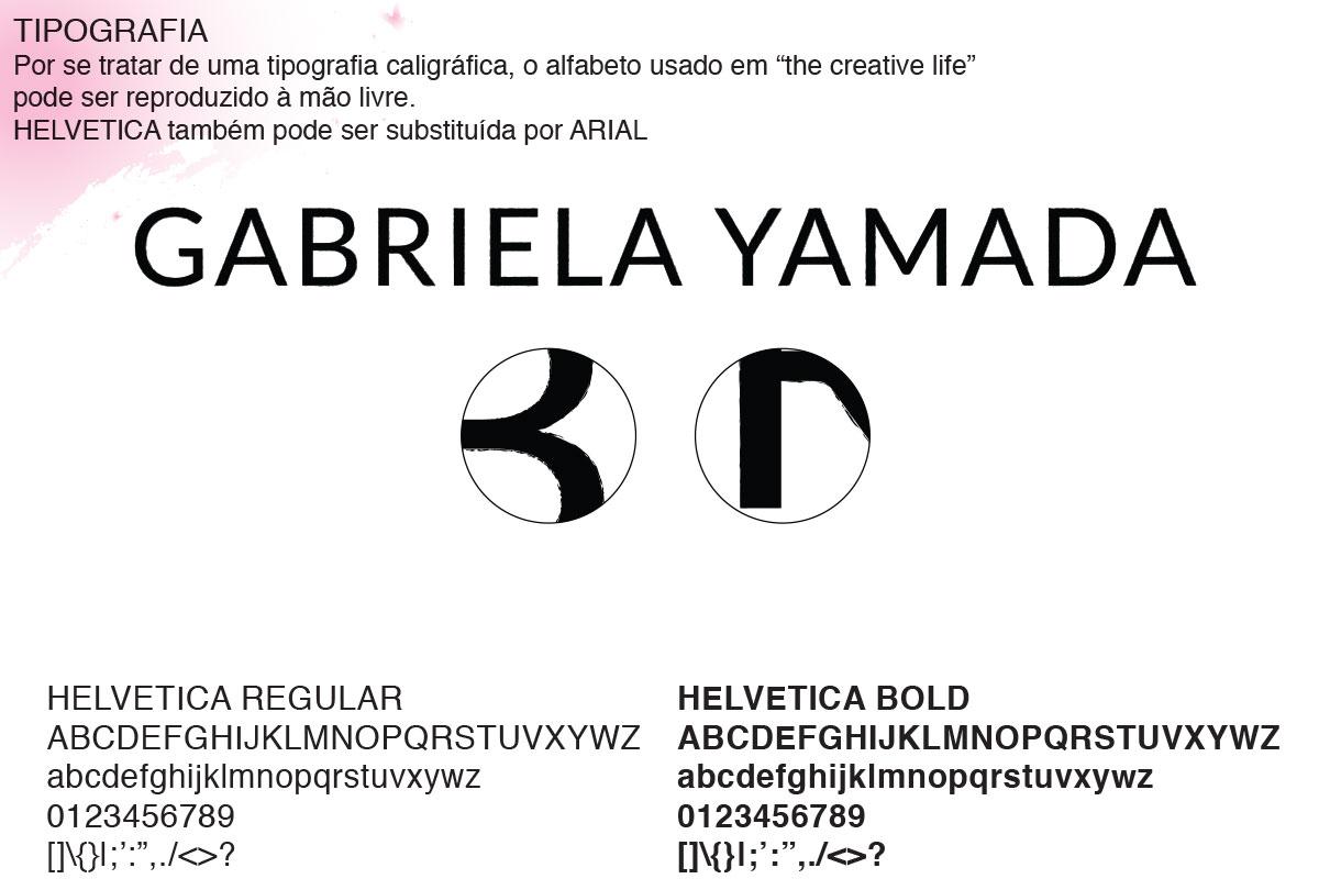 Detalhe da tipografia